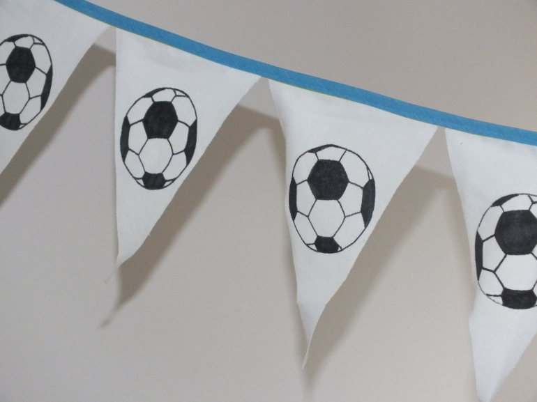 Guirlande de fête foot