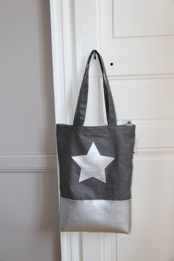 tote bag simili cuir